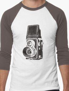 Vintage Beautyflex TLR camera Men's Baseball ¾ T-Shirt