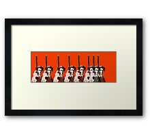 Eight Eastwoods Framed Print