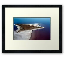 Sting Ray - Lake Eyre Framed Print