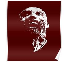 zombie face Poster
