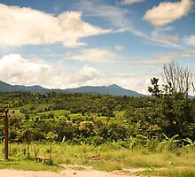 The view of Pai, Thailand by Deanne Dwight