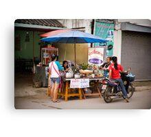 community in pai Canvas Print