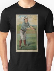 Benjamin K Edwards Collection Ed Andrews Philadelphia Quakers baseball card portrait 001 Unisex T-Shirt