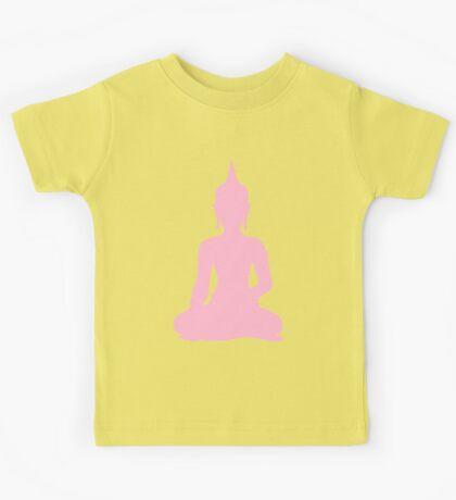 Pastel Candy Buddha Kids Tee