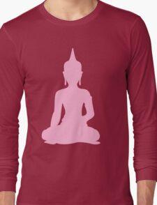 Pastel Candy Buddha Long Sleeve T-Shirt