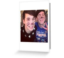 Dan & Phil (requested)  Greeting Card