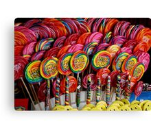 Lolly Pops Canvas Print