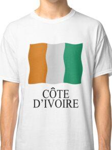Ivory Coast flag Classic T-Shirt