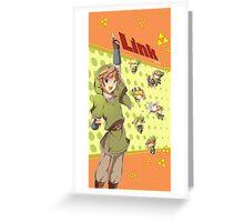 Legend of Zelda: Link time Greeting Card