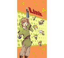 Legend of Zelda: Link time Photographic Print