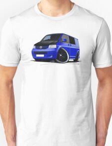 VW T5 (A) Blue T-Shirt