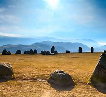 Castlerigg Stone Circle Panorama by Simon Bowen