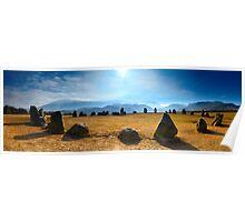 Castlerigg Stone Circle Panorama Poster