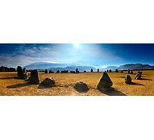 Castlerigg Stone Circle Panorama Photographic Print