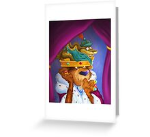 Prince John & Sir Hiss Greeting Card