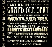 Nashville Tennessee Famous Landmarks by Patricia Lintner