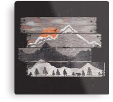 Into the Grey... Metal Print
