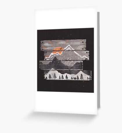 Into the Grey... Greeting Card