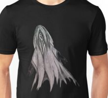 Ghost pencil drawing Unisex T-Shirt