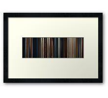 Moviebarcode: Thor (2011) Framed Print