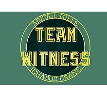 Team Witness. Photographic Print