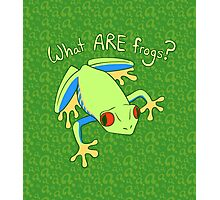 What ARE Frogs? (Tree edition) Photographic Print