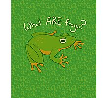 What ARE Frogs? (Basic edition) Photographic Print
