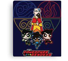 The Powerpuff Benders 2 Canvas Print
