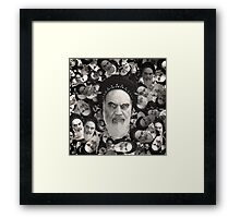Horned Ayatollah Monsters Framed Print