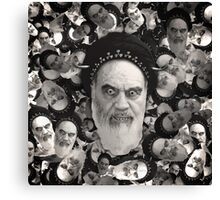Horned Ayatollah Monsters Canvas Print