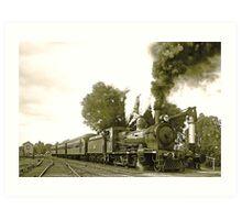 Engine 2705 at Thirlmere Art Print