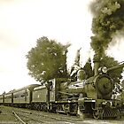 Engine 2705 at Thirlmere by George Petrovsky
