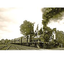 Engine 2705 at Thirlmere Photographic Print