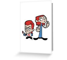 Dexter Greeting Card