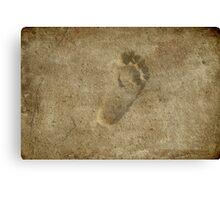 Tiny Steps Canvas Print