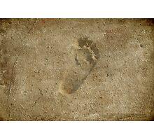 Tiny Steps Photographic Print