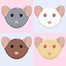 Four Rats by Rapps