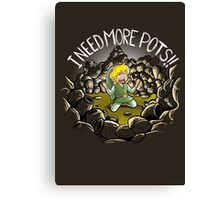 I need more pots Canvas Print