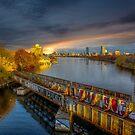 Graffiti bridge. by LudaNayvelt