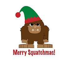 Merry Squatchmas! by Eggtooth
