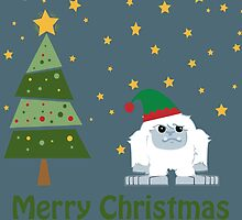 Merry Christmas Yeti by Eggtooth