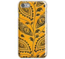 African Tribal Leaves iPhone Case/Skin