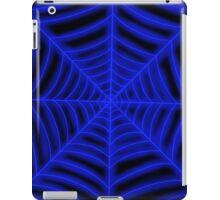 spider web ( dark blue glowing) iPad Case/Skin