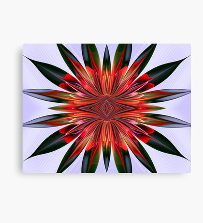 Complex Flower Canvas Print