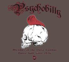 Psychobilly Skull by SundaySchool