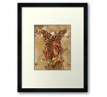Clockwork Beetle {the beetle catcher} Framed Print