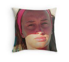 a te mia piccola Didie...alla tua bellezza ! Italy...EUROPA..1500 VISUALIZZAZ GENNAIO 2013--RB EXPLORE VETRINA 30 DICEMBRE 2011 --- Throw Pillow