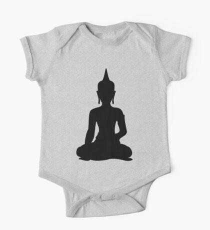 Simple Buddha One Piece - Short Sleeve