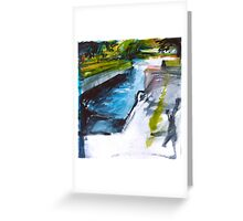 Canadian Canal Greeting Card