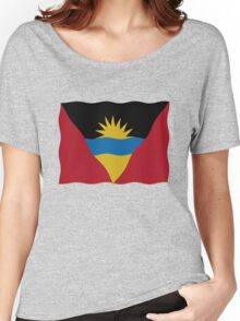 Flag Antigua and Barbuda Women's Relaxed Fit T-Shirt